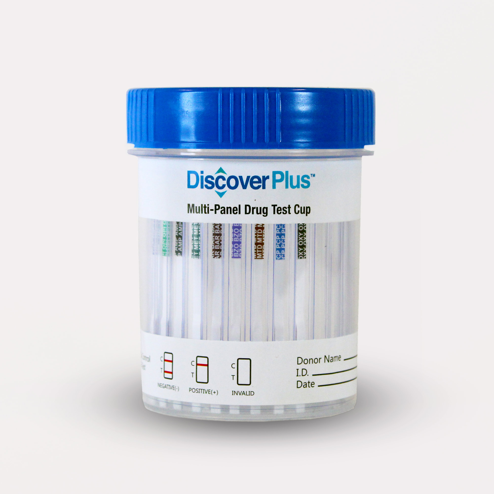 Box of 25 10 Panel Drug Test Cups  - Choice of Various Combinations of 10  Panels  THC, Opiates, Cocaine, methamphetamine, amphetamine, Oxy, mdma,